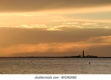 Sunset on the Loggerhead Key Lighthouse in the Dry Tortugas