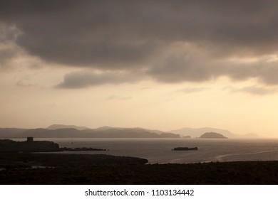 Sunset on Menorca Island