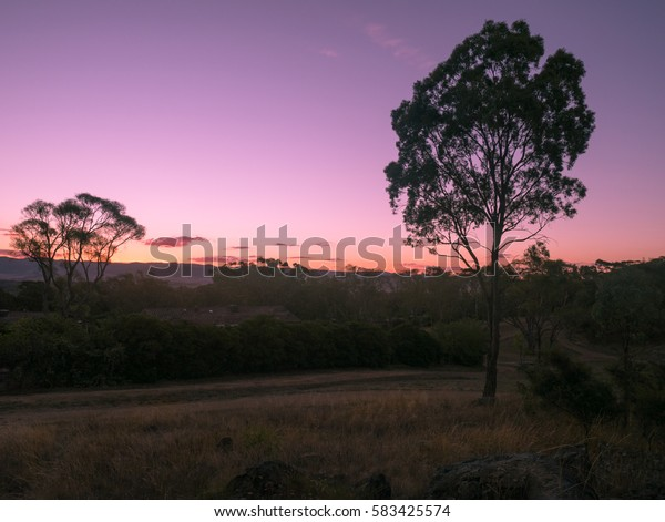 Sunset on Mount Rogers