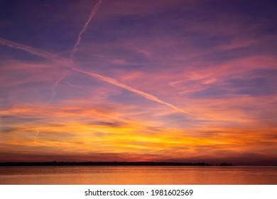 Sunset On Oneida Lake NY