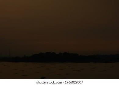 Sunset on Ranu Lake, Pasuruan.