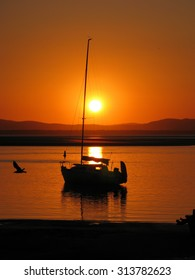 Sunset on the River at 1770 Queensland Australia