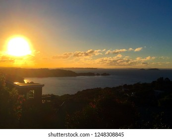 Sunset on Waiheke Island (New Zealand)