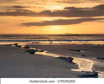 Sunset at the Opal Coast