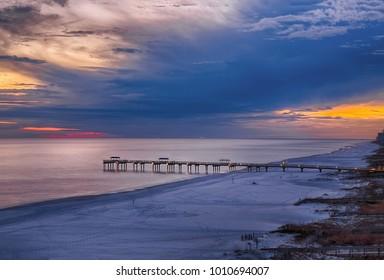 Sunset at Orange Beach, Alabama