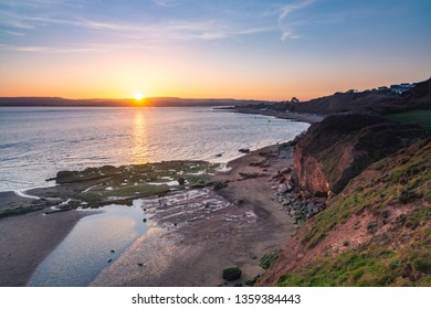 Sunset from Orcombe Point, Exmouth - Devon, England