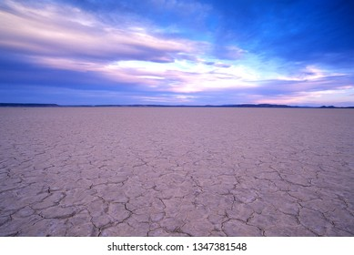 Sunset over the Alvord Desert. Steens Mountain, Southeast Oregon.   The Alvord Desert sits over a mile below Steens Mountain, a 9,700 foot tall peak in southeast Oregon.