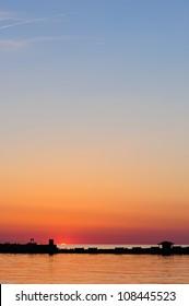 Sunset Over the Chesapeake Bay