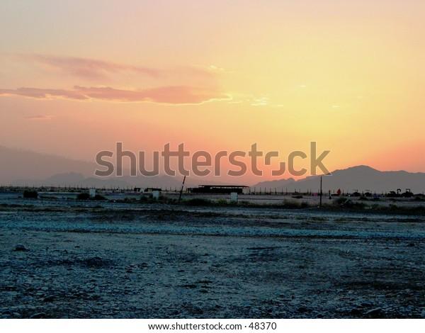 Sunset over Kandahar
