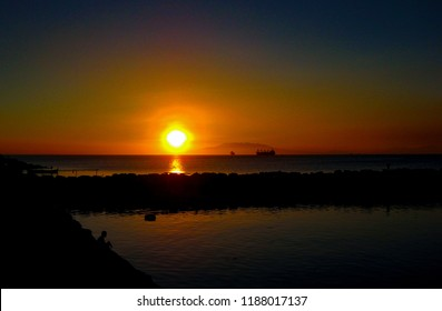 Sunset Over Manila Bay, Philippines