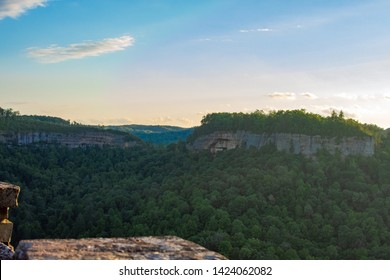 Sunset over Red River Gorge