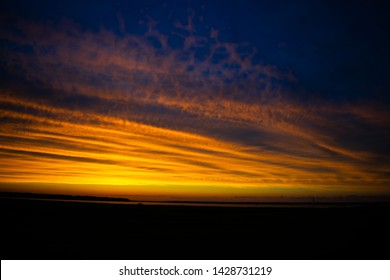 Sunset over a South Carolinian sound