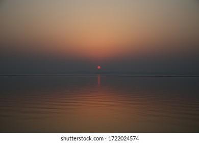 Sunset over the Tai Lake