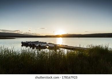 Sunset over Tunkwa Lake | Kamloops, British Columbia