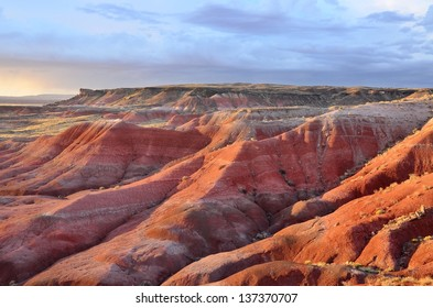 Sunset in the Painted Desert National Park