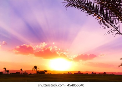Sunset Paradise Heavenly View