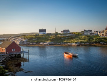 Sunset at Peggy's Cove, Nova Scotia Canada