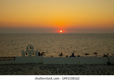 Sunset in the Philippines at Thunderbird Resort