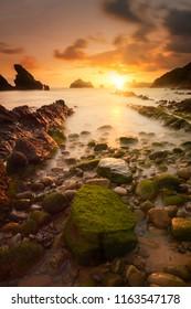 sunset to playa de somocuevas