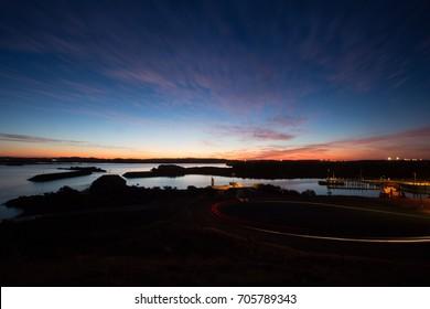 Sunset at Point Samson, Cape Lambert, Karratha, West Australia.