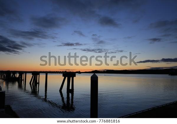 Sunset at Prince Rupert, British Columbia, Canada