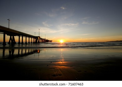 Sunset Reflections at the pier