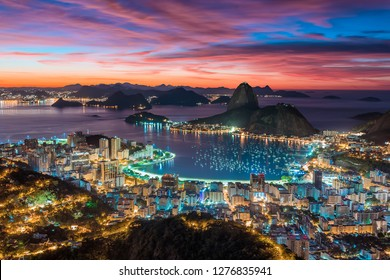 Sunset in Rio de Janeiro - Brazil