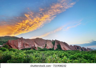 Sunset at Roxborough State Park