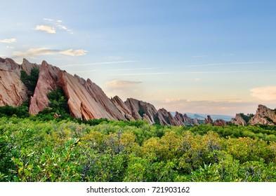 Sunset at Roxborough State Park, Colorado