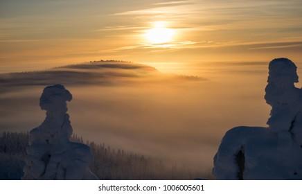 Sunset (Ruka, Kuusamo, Finland)