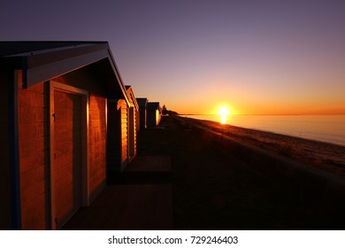 Sunset at Safety beach, Australia