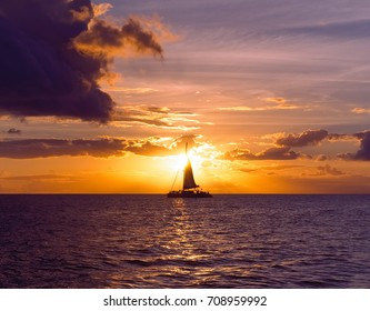 Sunset Sailing Two