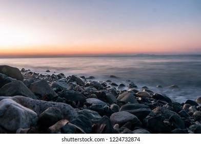 sunset at samothrace