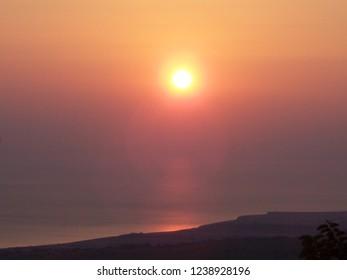 Sunset in Samothraki
