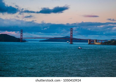 Sunset in San Francisco, California