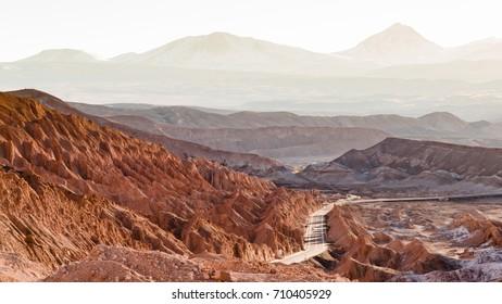 Sunset in San Pedro do Atacama, Atacama Desert