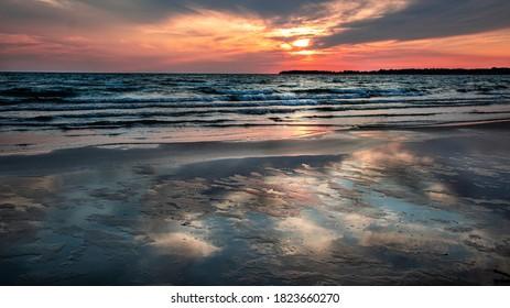 Sunset at Sandbanks Prince Edward County, Ontario