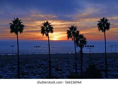 Sunset - Santa Monica