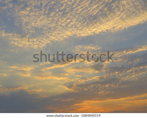 sunset scenes clouds and sky