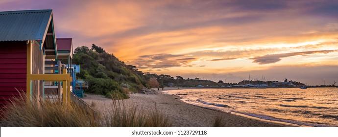 Sunset at Schnapper Point, Mornington