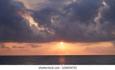 Sunset at the sea.