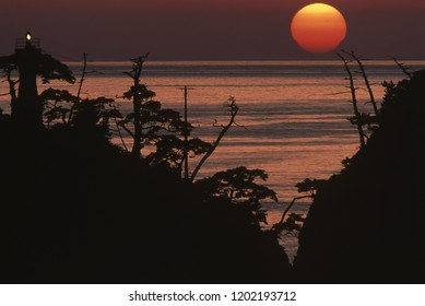 Sunset in Sea of Japan
