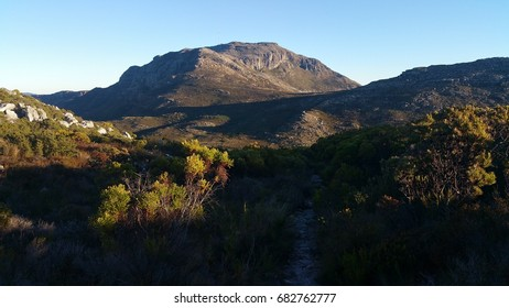 Sunset at Silvermine in Table Mountain National Park, Western Cape, South Africa