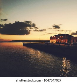 Sunset in Siracusa, Sicily