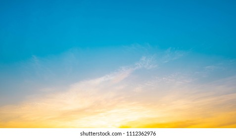 sunset sky background  for design