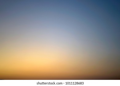 Sunset sky background, sky gradient.
