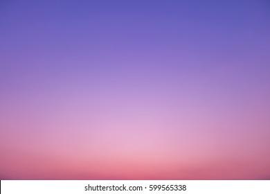 Sunset sky background, twilight time, pastel tone.