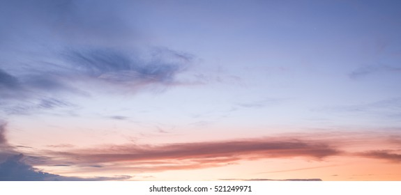Sunset sky background,sunset and beach
