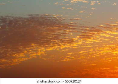 Sunset. Sky. Clouds. Israel