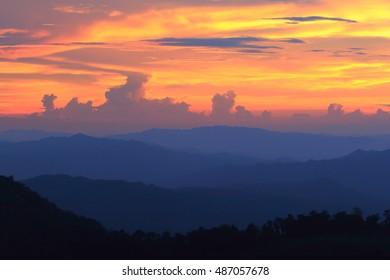 Sunset , Sky - color
